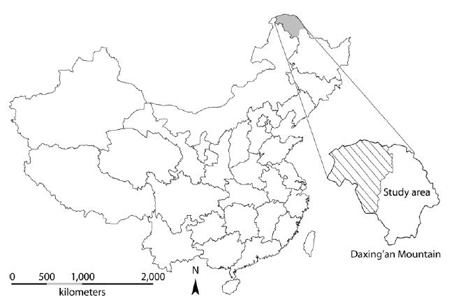 Dagingan Mountain map